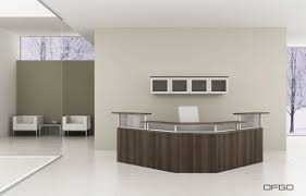 office reception decor. Amazing Chic Reception Desk Furniture Office Home Decor