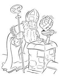 De 25 Beste Afbeelding Van Sinterklaas Kleurplaten Printable