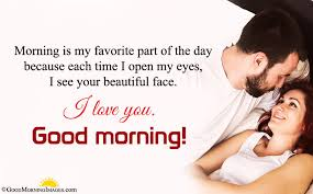 romantic good morning message sms for