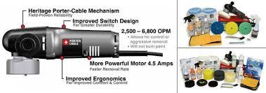 porter cable orbital polisher. porter cable 7424 xp polisher kits orbital d