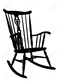 rocking chair drawing. Delighful Drawing Banque Du0027images  Rocking Chair Vintage Pochoir Ct Droit Inclin Throughout Drawing G
