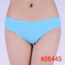 Panties blue thong teen