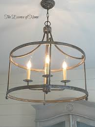 it has an old world look to it and fits in well with the french farmhouse style that i like