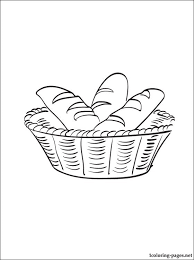 Small Picture Breadbasket coloring page Coloring pages