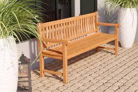 teak garden bench 180cm timber kit
