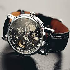 25 best ideas about mens watches leather nice mens mens watch vintage style watch handmade style watch leather watch chain hollow out mechanical watch wat0042 black from stan amazing watch