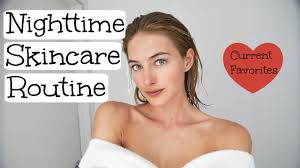 Nighttime Skincare Routine | Model Skincare | Glowy Healthy Skin | How to get healthy fair and glowing skin at home