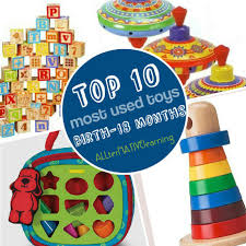 Most used toys Birth-18 months Gift Guide