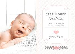 newborn baby announcement sample baby announcement template baby girl birth announcement baby birth