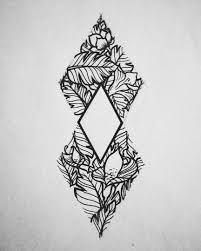 Geometry Flower Sketch Tattoo Sketches идеи для татуировок тату