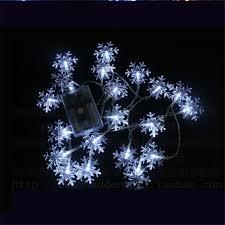 Fairy Lights Taobao 8m 50led String Lights White Snowflake Window Garlands Decorations Wedding Christmas Party Decorative Lights Led Fairy Lights