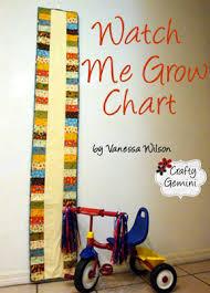 Watch Me Grow Chart Watch Me Grow Chart Tutorial Crafty Gemini