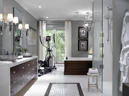 Master Bath Designs spa master bathroom with home gym hgtv 5899 by uwakikaiketsu.us