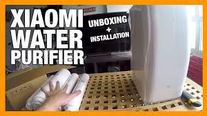 <b>Xiaomi Water Purifier</b> Unboxing & Installation - YouTube