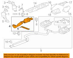 buick gm oem 10 12 lacrosse 3 6l v6 exhaust system front pipe buick gm oem 10 12 lacrosse 3 6l v6 exhaust system front pipe 22935316