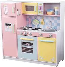 KidKraft Large Kitchen, Pastel, 42.30 x 17.60 x 43.00 ... - Amazon.com