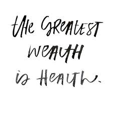 Health And Fitness Quotes Inspiration The Greatest Wealth Is Health Inspirational Motivational Health