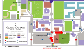 gcu map impot at campus  roundtripticketme