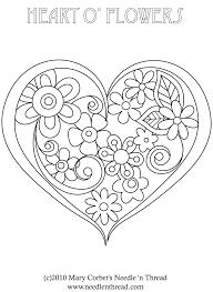 Printable Coloriages C Ur Coloriage Coeur Coloriage Et Coeur