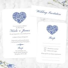 Over 100 Personalised Wedding Invitations Tree Of Hearts