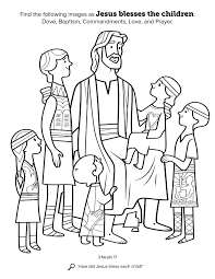 Small Picture Jesus Blesses the Children