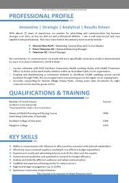 Free Australian Resume Templates Resume Templates Word Free Coles Thecolossus Co For Template