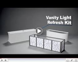 Vanity Light Refresh Kit Interesting Vanity Light Refresh Kit 32 Lowes Apartments Pinterest