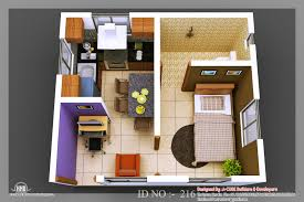 Small Picture Recent 3D Isometric Views Of Small House Plans Kerala House