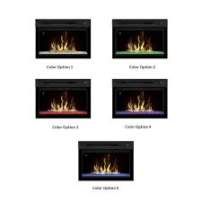 dimplex in multifire xd contemporary electric fireplace insert