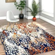 orange and blue area rug blue area rug bold modern rugs orange blue contemporary area rug