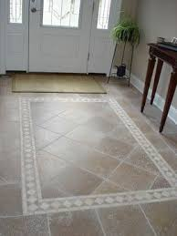 Exellent Tile Flooring Ideas For Foyer Traditional Entry To Innovation