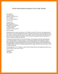 Entry Level Administrative Assistant Cover Letters 9 10 Admin Assistant Cover Letter Example Samples