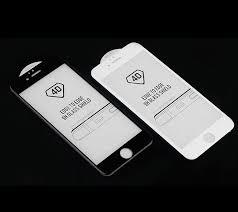 4D Melengkung tepi Penutup Penuh Warna Merah Layar Protector untuk iPhone 6  6 s 6 ditambah