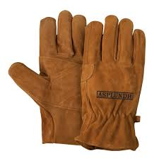 heavy duty water repellent suede leather gloves