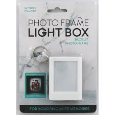 Photo Frame Light Box Keychain Valentines Gifts For Her At The Works