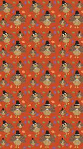 Thanksgiving Turkey Pattern Wallpaper ...