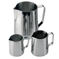 milk jug stainless steel ml  j  buy online at nisbets