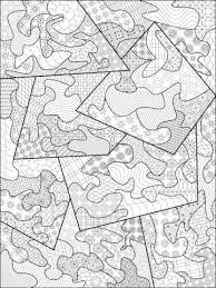 Small Picture Abstract Zentangle coloring page Free Printable Coloring Pages