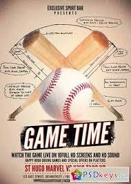 Free Baseball Flyer Template Baseball Flyer Template Free Magdalene Project Org