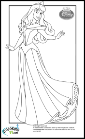 Disney Princess Aurora Coloring Pages Edl