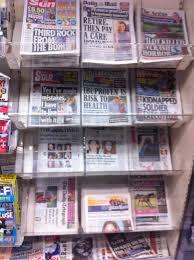School Newspaper Layout Template Tabloid Newspaper Format Wikipedia