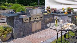 patio grill and deck designs
