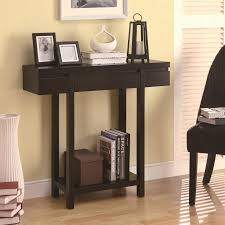 coaster accent tables modern entry table with lower shelf  value