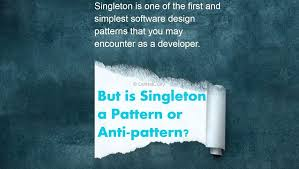 Anti Pattern Custom Singleton In C Pattern Or Antipattern DotNetCurry