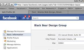 Facebook Bear Profile Not Design Black Link Working On Employer