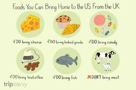 foods you can bring home from the uk