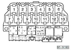 vwvortex com jetta relay diagram or under dash picture needed 8v society 307