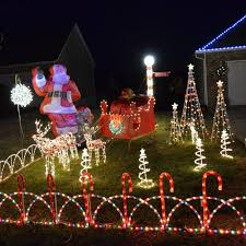 Jackson Mo Light Display Spreads The Joy Of The Holidays