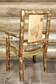 captain dining chairs captains solid wood dining chair with laser engraved wolf design leather captain dining captain dining chairs