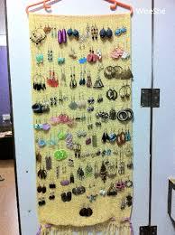 Earring Display Stand Diy How To Make Earring Holder Jewellery Display Stand DIY WiseShe 53